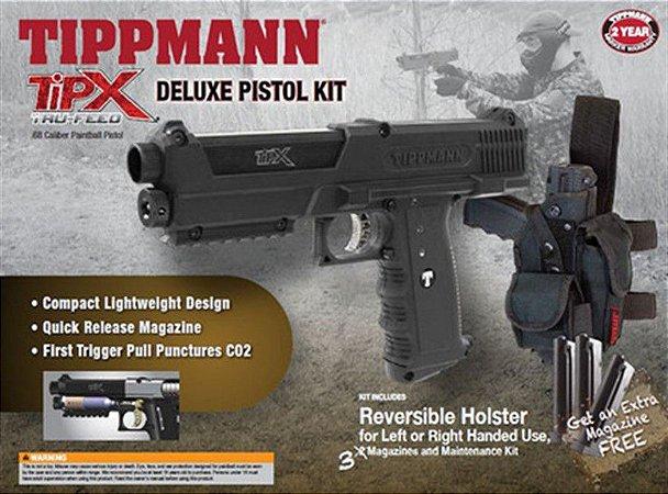 Marcador Tippmann TIPX Deluxe Kit Preta
