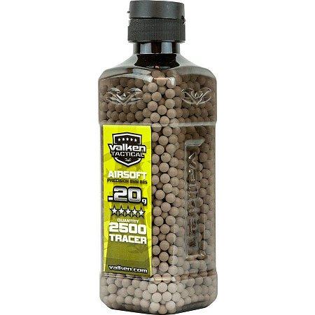 BBs V-Tatical 0.20g 2.500ct Bottle TRACER