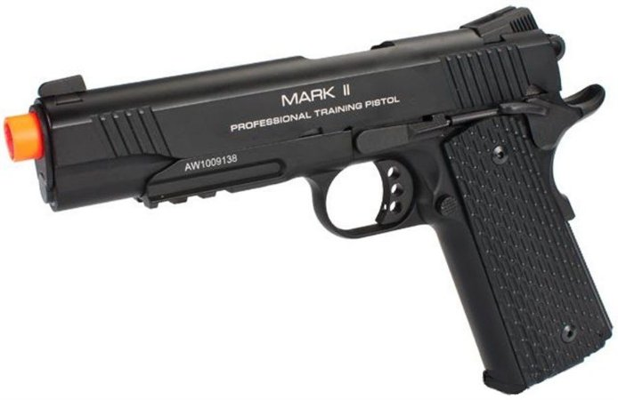 Pistola KWA Full Metal M1911 NS2 PTP