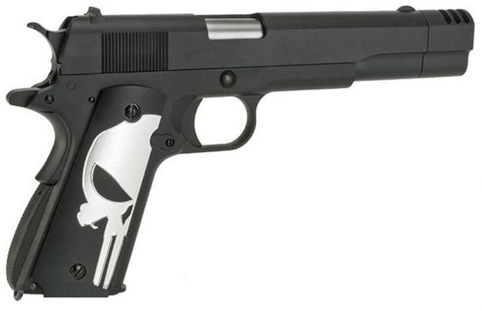 Pistola WE 1911A1 Blow. c/ compensador
