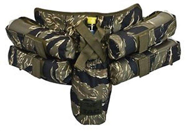 Cinto Harness Valken 4+1 Camo/Tiger Strip
