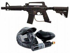 Kit  Marcador US Army Alpha Black Elite