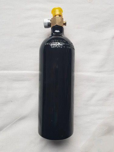Cilindro 20oz Alumínio c/ Válvula ON/OFF