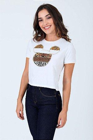 Camiseta manga curta mickey