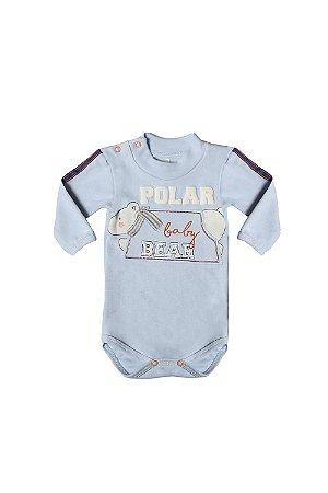 Body suedine urso polar