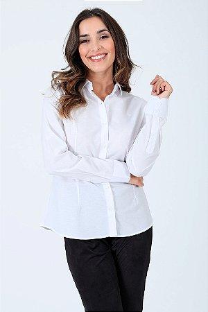 Camisa manga longa com botões