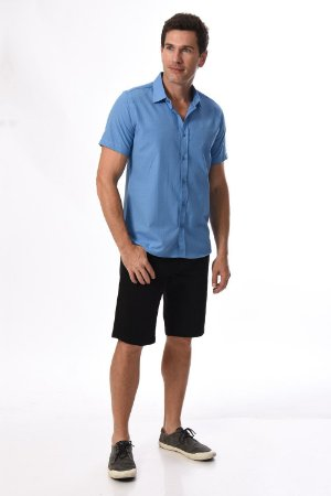 Camisa manga curta clássica