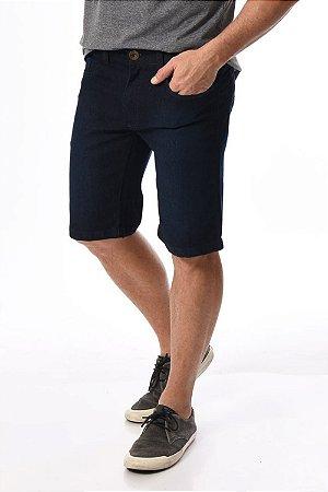 Bermuda jeans reta