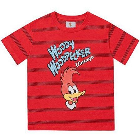 Camiseta manga curta infantil pica pau