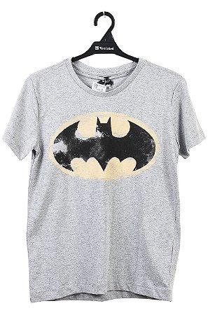 Camiseta infantil manga curta batman