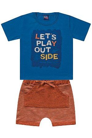 Conjunto infantil let's play out side