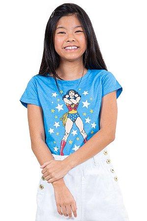 Camiseta juvenil wonder woman