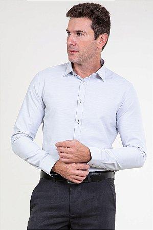 Camisa manga longa slim fit