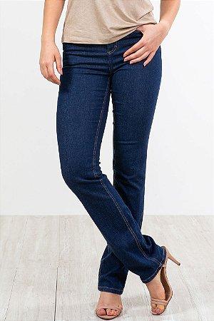 Calça jeans reta básica