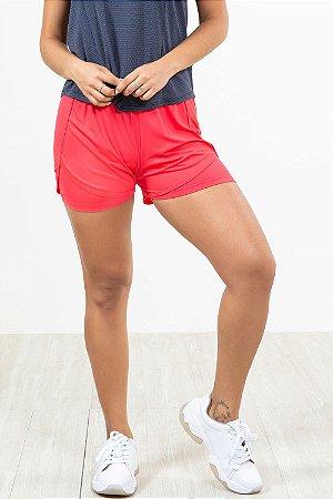 Shorts duplo fitness