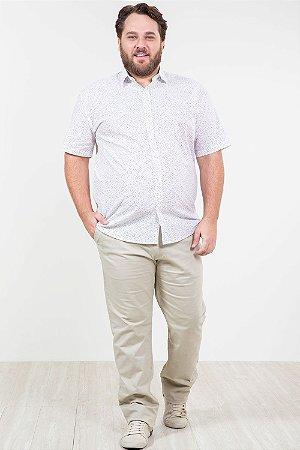 Calça sport wear em sarja plus size
