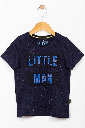 Camiseta malha botonê infantil manga curta