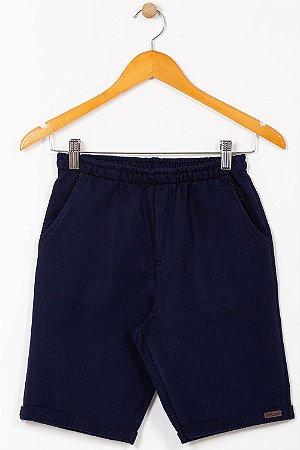 Bermuda moletom juvenil com bolso alakazoo