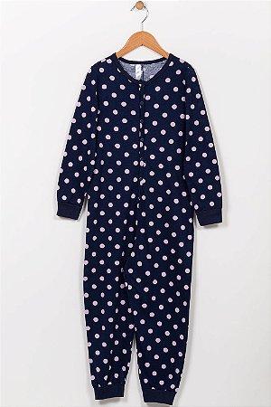 Pijama macacão infantil estampado malwee