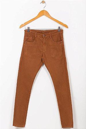 Calça sarja juvenil skinny