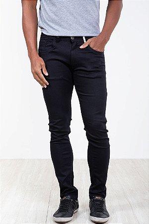 Calça sarja skinny com bolso