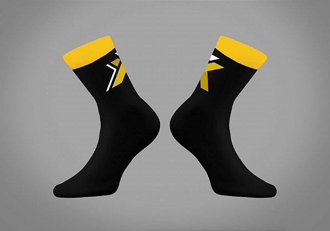 Meia GPX - Amarelo