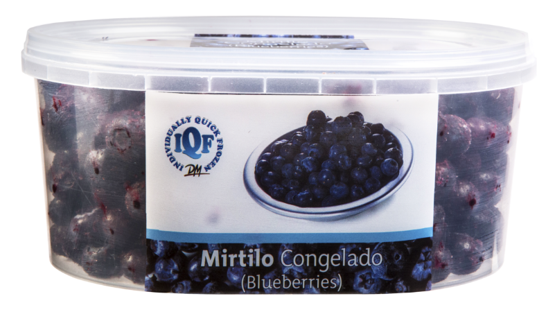 IQF MIRTILO/BLUEBERRY POTE COM 450G