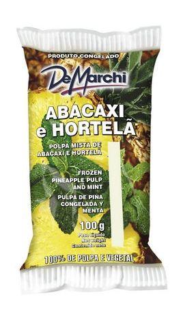 POLPINHA DE ABACAXI COM HORTELA 10X100G