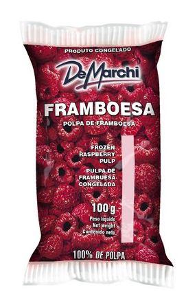 POLPINHA DE FRAMBOESA 10X100G