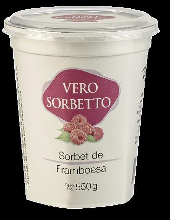 VERO SORBETTO FRAMBOESA 550G/500ML