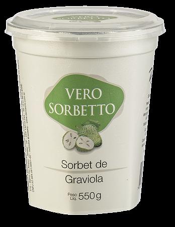 VERO SORBETTO GRAVIOLA 550G/500ML