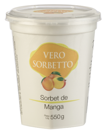 VERO SORBETTO MANGA 550G/500ML
