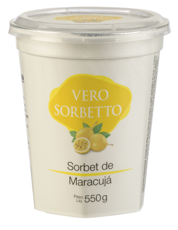 VERO SORBETTO MARACUJA 550G/500ML