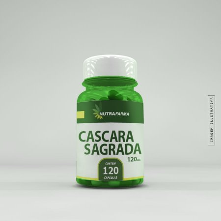 Cáscara Sagrada 250mg - 120 Cápsulas