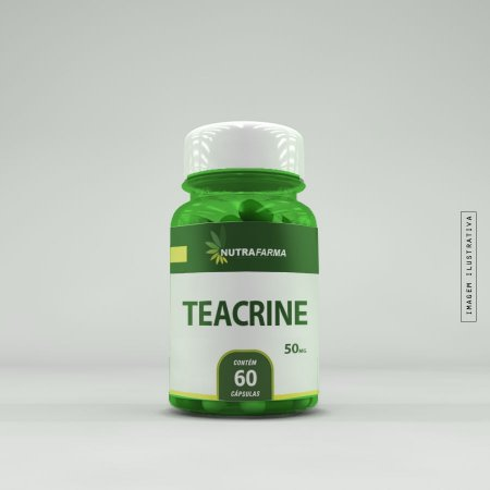 Teacrine 50mg - 60 Cápsulas
