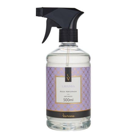 Água Perfumada Lavanda 500ml - Via Aroma