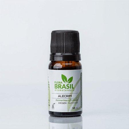 Óleo Essencial Alecrim - Flora Brasil - 10 ml