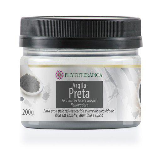 Argila Preta Renovadora 200g - Phytoterápica