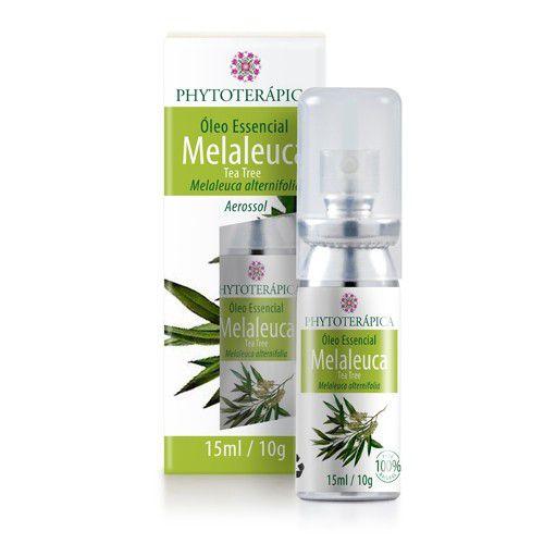 Óleo Essencial de Melaleuca (Tea Tree) Aerossol 15ml - Phytoterápica