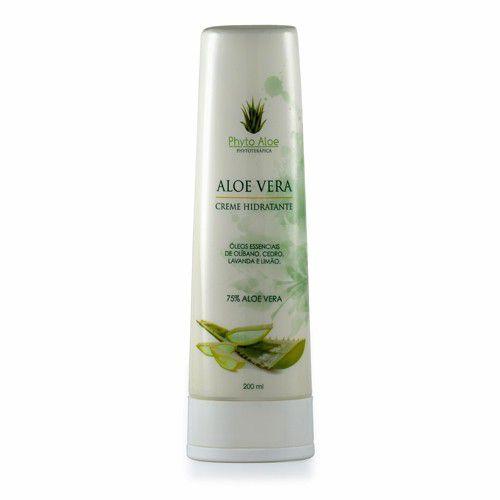 Creme Hidratante de Aloe Vera 200ml - Phytoterápica
