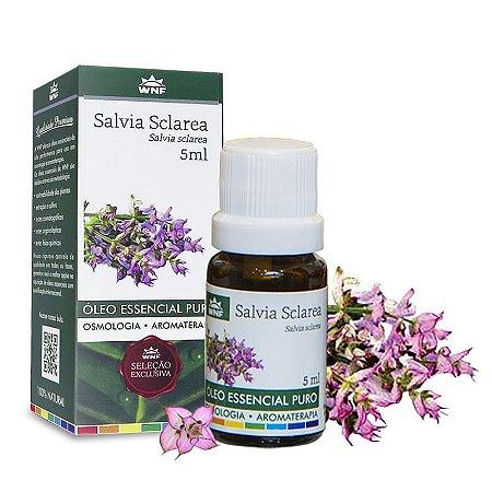 Óleo Essencial de Salvia Sclarea 5ml - WNF