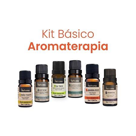 Kit Básico Aromaterapia
