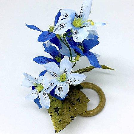 Porta Guardanapo Ramo de Mini Orquídeas Céu da Charlô - 4 unds