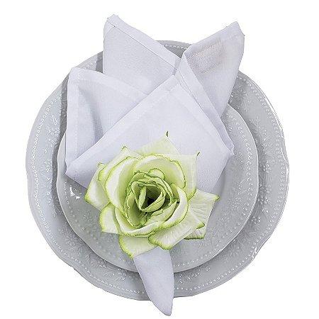 Porta Guardanapo Botão de Rosa Raspa de Limão - 4 unidades