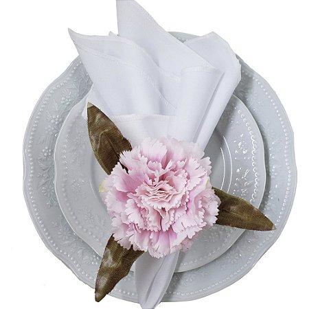 Porta Guardanapo Cravo Rosa Delicado - 4 unds