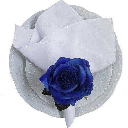 Porta Guardanapo Botão de Rosa Azul Colombiana - 4 unids