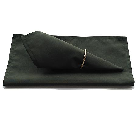 Guardanapo de Tecido Verde Bonsai 32cmx32cm - 4 unidades
