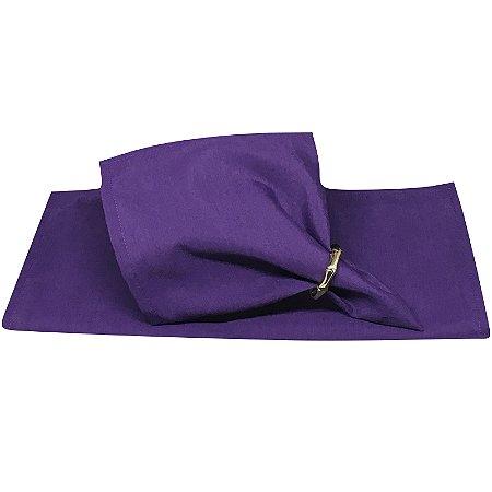 Guardanapo de Tecido Violeta Nobre 32cmx32cm - 4 unidades