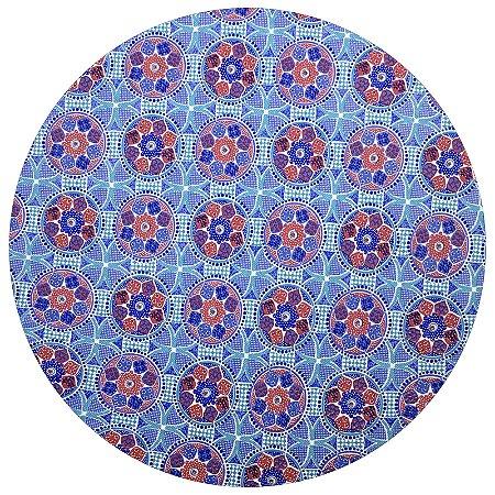 Capa para Sousplat Mandala da Charlô com base em MDF 35cmx35cm - 8 peças