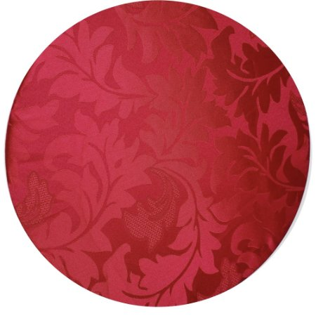 Kit 4 Capas para Sousplat Jacquard Pink da Charlô 35cmx35cm